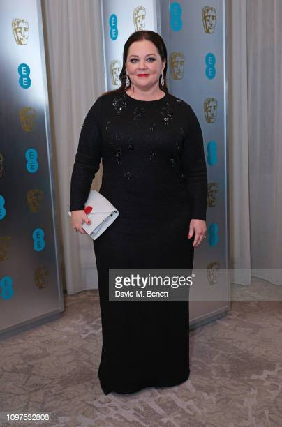 Melissa McCarthy attends the EE British Academy Film Awards gala dinner at The Grosvenor House Hotel on February 10, 2019 in London, England.