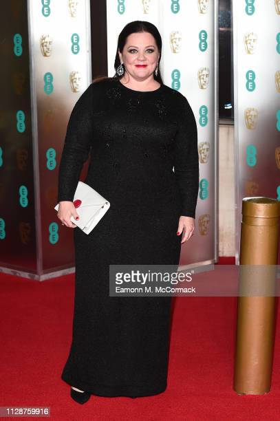 Melissa McCarthy attends the EE British Academy Film Awards Gala Dinner at Grosvenor House on February 10 2019 in London England