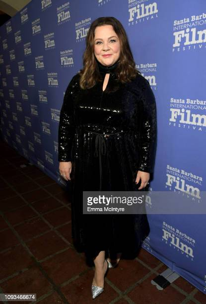 Melissa McCarthy attends the Montecito Award honoring Melissa McCarthy during the 34th Santa Barbara International Film Festival at Arlington Theatre...