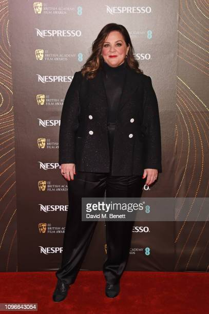 Melissa McCarthy attends the Nespresso British Academy Film Awards nominees party at Kensington Palace on February 9 2019 in London England