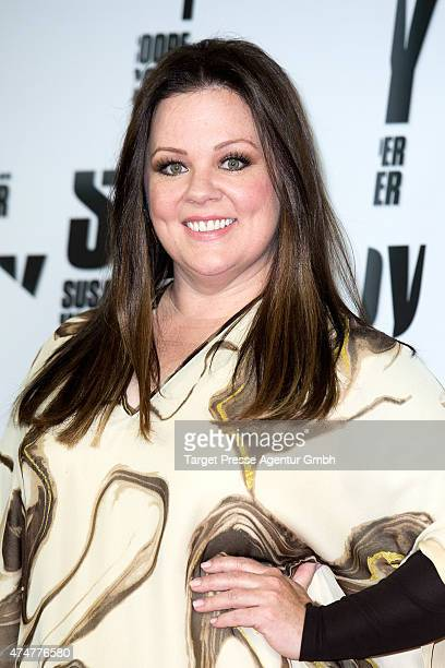 Melissa McCarthy attends the 'Spy Susan Cooper undercover' photocall in Berlin at Hotel De Rome on May 26 2015 in Berlin Germany