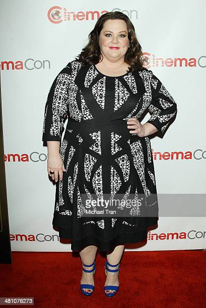 Melissa McCarthy attends Warner Bros Pictures' The Big Picture an Exclusive Presentation at Cinemacon 2014 Day 4 held at The Colosseum at Caesars...