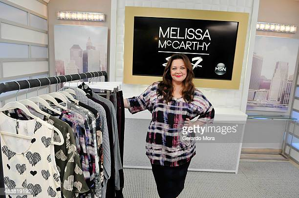 Melissa McCarthy debuts first fashion collection 'Melissa McCarthy Seven' live at HSN Studios from 1pm to 3pm and 9pm to 11pm pm on August 13 2015 in...