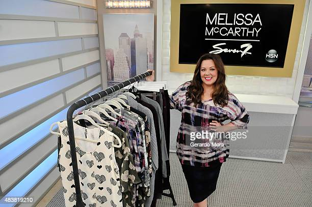 """Melissa McCarthy debuts first fashion collection, """"Melissa McCarthy Seven"""" live at HSN Studios from 1pm to 3pm and 9pm to 11pm pm on August 13, 2015..."""