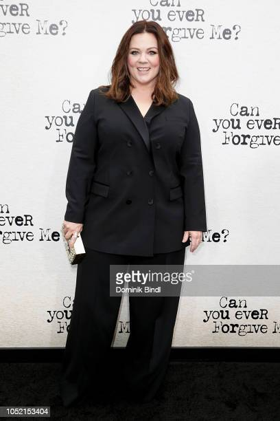 Melissa McCarthy during the Can You Ever Forgive Me New York Premiere at SVA Theater on October 14 2018 in New York City