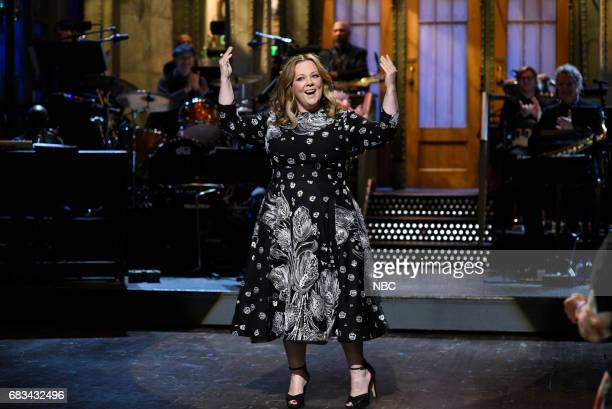 LIVE 'Melissa McCarthy' Episode 1724 Pictured Melissa McCarthy during the opening monologue on May 13 2017