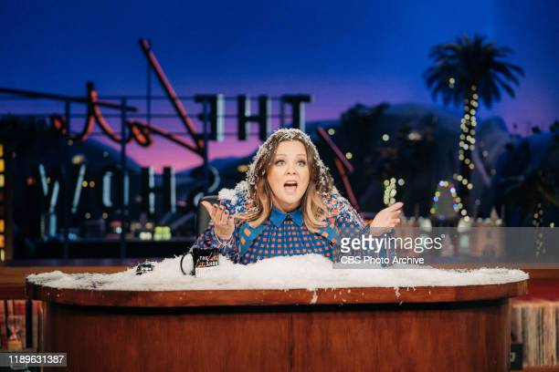 Melissa McCarthy guest-hosts The Late Late Show with James Corden airing Wednesday, December 18 with guests Allison Janney, Laura Dern, Mark Duplass,...