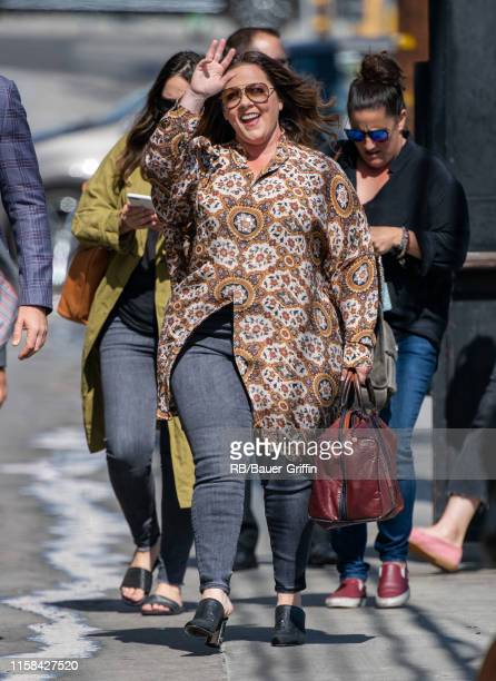Melissa McCarthy is seen at 'Jimmy Kimmel Live' on July 29, 2019 in Los Angeles, California.
