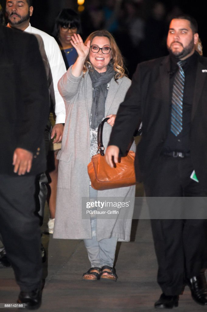 Melissa McCarthy is seen at kimmel on December 07, 2017 in Los Angeles, California.
