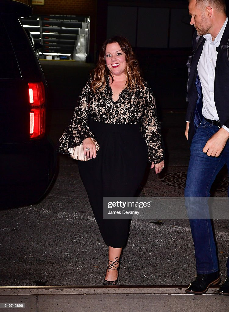 Melissa McCarthy seen on the streets of Manhattan on July 12, 2016 in New York City.