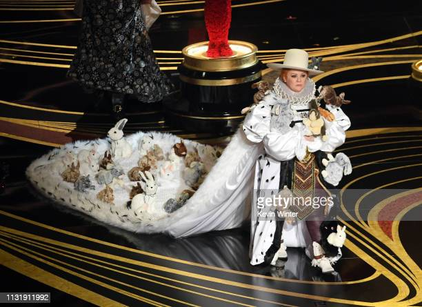 Melissa McCarthy speaks onstage during the 91st Annual Academy Awards at Dolby Theatre on February 24 2019 in Hollywood California