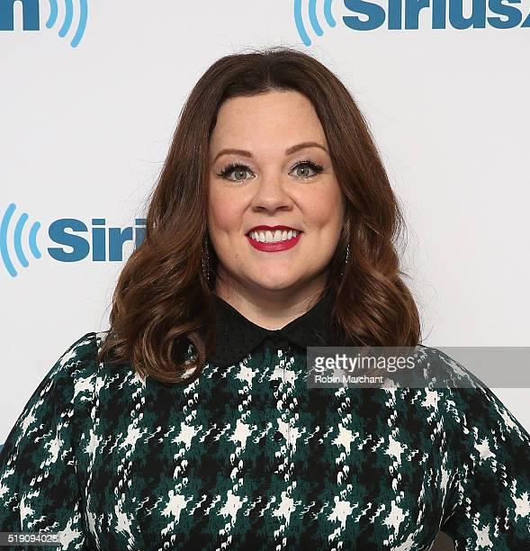 Melissa McCarthy visits at SiriusXM Studio on April 4 2016 in New York City