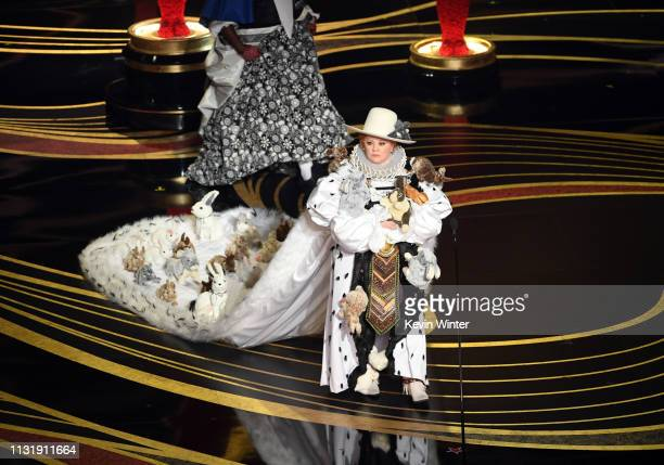 Melissa McCarthy walks onstage during the 91st Annual Academy Awards at Dolby Theatre on February 24 2019 in Hollywood California