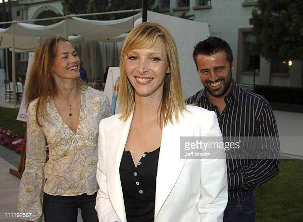 Melissa McKnight Lisa Kudrow and Matt LeBlanc during 'The Comeback' HBO Los Angeles Premiere Arrivals at Paramount Theater in Los Angeles California...