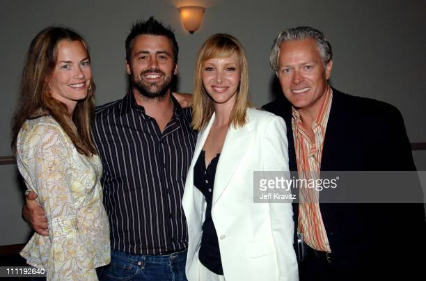 Melissa McKnight, Matt LeBlanc, Lisa Kudrow and Michel Stern