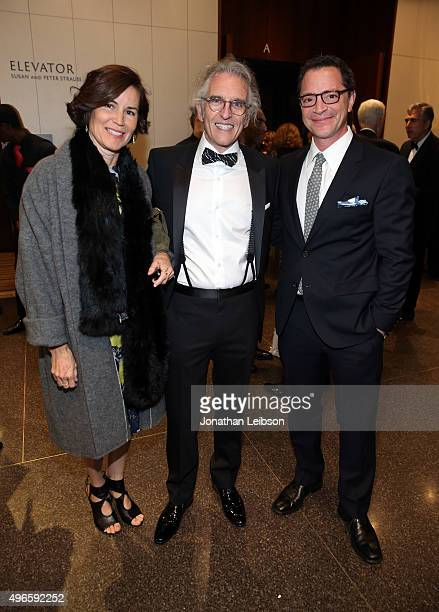 Melissa Merwin Steven Kofsky and Joshua Malina attend the American Friends of the Israel Philharmonic Orchestra Duet Gala at the Wallis Annenberg...