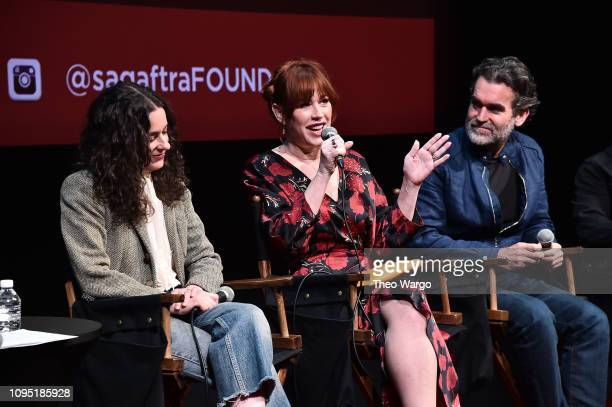 Melissa Miller Costanzo Molly Ringwald and Brian D'Arcy attend the SAGAFTRA Foundation Conversation 'All These Small Moments' at The Robin Williams...