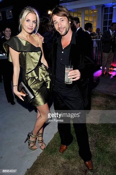 Melissa Montgomery and Jay Kay attend the annual summer party at The Serpentine Gallery on July 9 2009 in London England