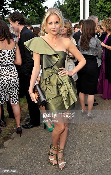 Melissa Montgomery attends the annual summer party at The Serpentine Gallery on July 9 2009 in London England