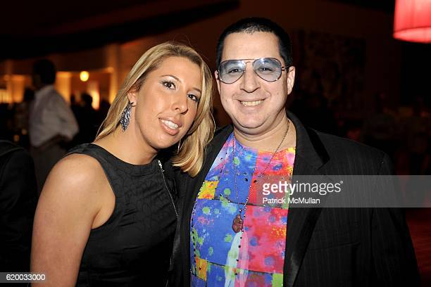 Melissa Murphy and Noah G POP attend INTERVIEW MAGAZINE Party to Celebrate the ART ISSUE at Miami Art Museum on December 4 2008 in Miami FL