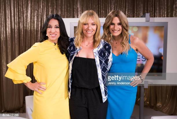 Melissa Musen Gerstein Toni Collette and Denise Albert attend 'Fun Mom Dinner' Mamarazzi Screening at Time Inc Studios on August 2 2017 in New York...