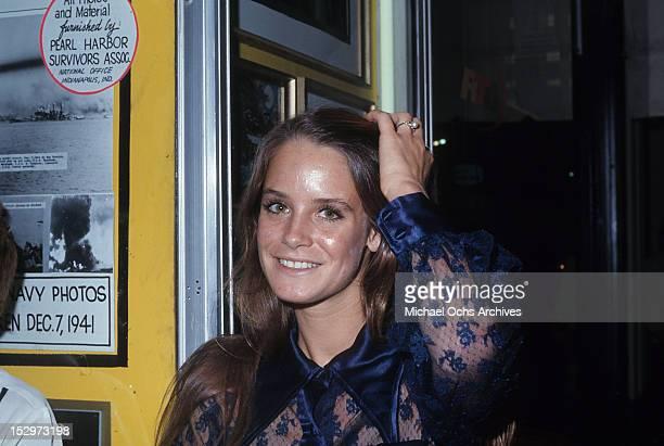 Melissa Newman, 1970.