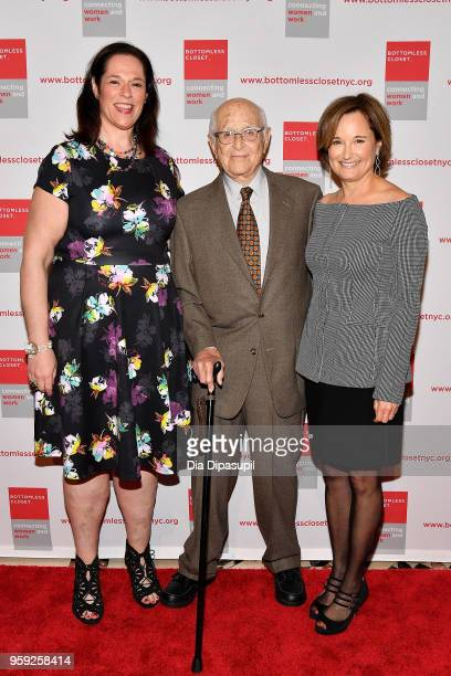 Melissa Norden Norman Lear and Maggie Lear attend the Bottomless Closet's 19th Annual Spring Luncheon on May 16 2018 in New York City
