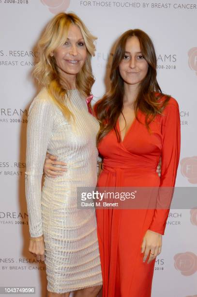 Melissa Odabash and Alaia Odabash attend 'Ten A Decade Of Dreams' a fundraising gala presented by Future Dreams to raise support awareness and...