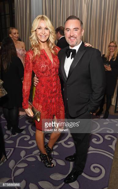 Melissa Odabash and Nick Ede attend the 8th Global Gift Gala London in aid of Great Ormond Street Hospital Children's Charity at Corinthia Hotel...