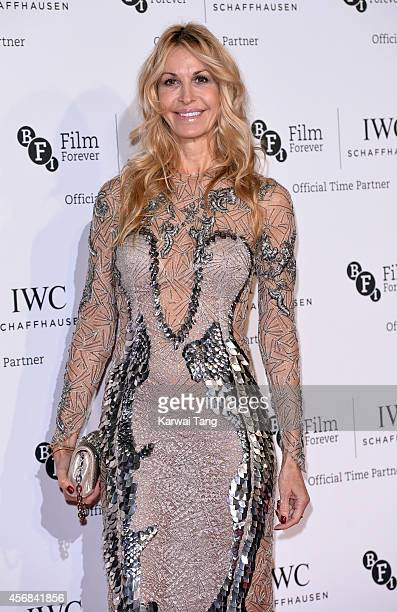 Melissa Odabash attends the IWC Gala dinner in honour of the BFI at Battersea Evolution on October 7 2014 in London England