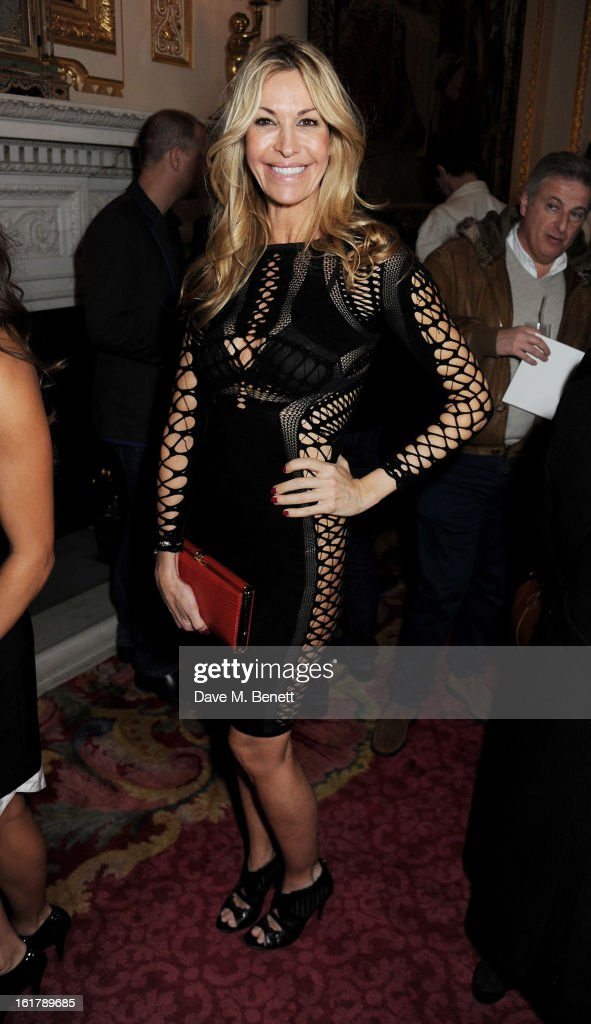 Melissa Odabash attends the Julien Macdonald show during London Fashion Week Fall/Winter 2013/14 at Goldsmiths' Hall on February 16, 2013 in London, England.