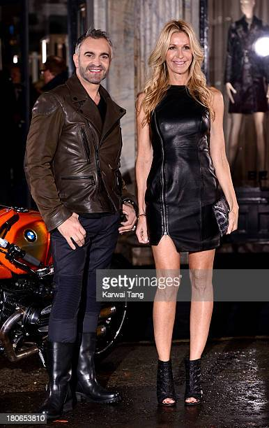 Melissa Odabash attends the opening of Belstaff House on September 15 2013 in London England