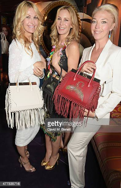 Melissa Odabash, Dee Ocleppo and Tamara Beckwith attend the Walkabout Foundation Event hosted by Dee Ocleppo And Tommy Hilfiger at Loulou's on June...
