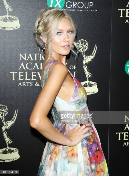 Melissa Ordway arrives at the 41st Annual Daytime Emmy Awards held at The Beverly Hilton Hotel on June 22 2014 in Beverly Hills California
