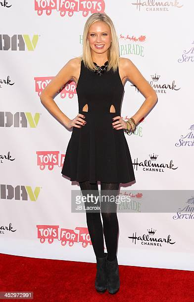 Melissa Ordway attends the Hollywood Christmas Parade benefiting Toys For Tots foundation on December 1 2013 in Hollywood California