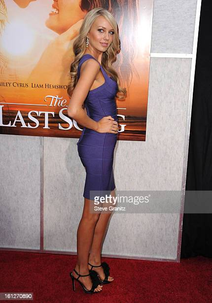 Melissa Ordway attends the 'The Last Song' Los Angeles Premiere at ArcLight Hollywood on March 25 2010 in Hollywood California