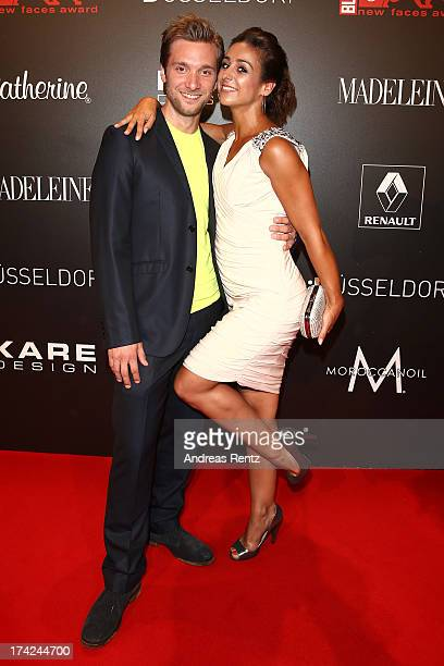 Melissa OrtizGomez attends KARE Design at the New Faces Award Fashion 2013 at Rheinterrasse on July 22 2013 in Duesseldorf Germany