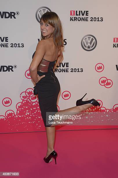 Melissa OrtizGomez attends the '1Live Krone' at Jahrhunderthalle on December 5 2013 in Bochum Germany