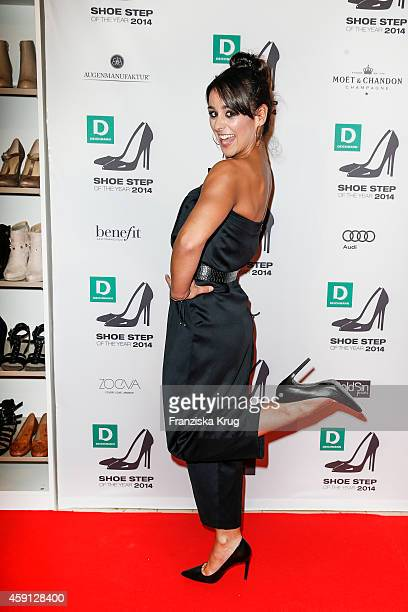 Melissa OrtizGomez attends the Deichmann Shoe Step of the Year 2014 on November 17 2014 in Hamburg Germany