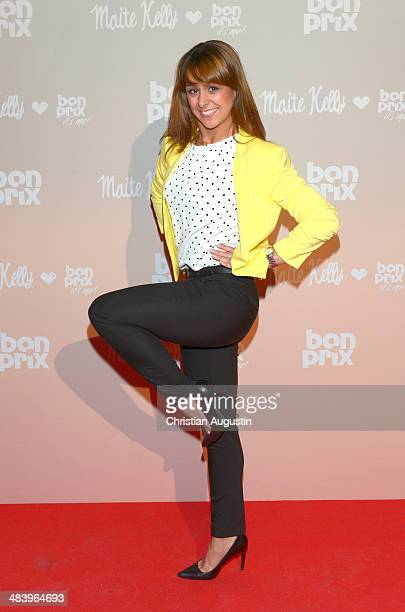 Melissa OrtizGomez attends the 'Maite Kelly bonprix' spring/summer collection presentation at Handelskammer Hamburg on April 10 2014 in Hamburg...