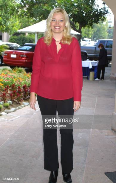 Melissa Peterman during Television Critics Association Warner Bros Party 2001 at Warner Bros Studios in Burbank California United States