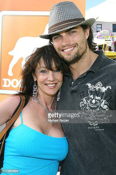 Melissa Prophet and Scott Elrod during The Silver Spoon Hosts 4th Annual Dog and Baby Buffet Day Two at Wattles Mansion in Los Angeles California...