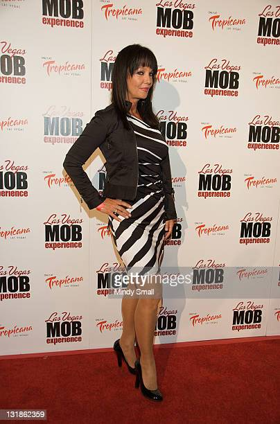 Melissa Prophet attends grand opening of The Las Vegas Mob Experience at The Tropicana on March 29 2011 in Las Vegas Nevada