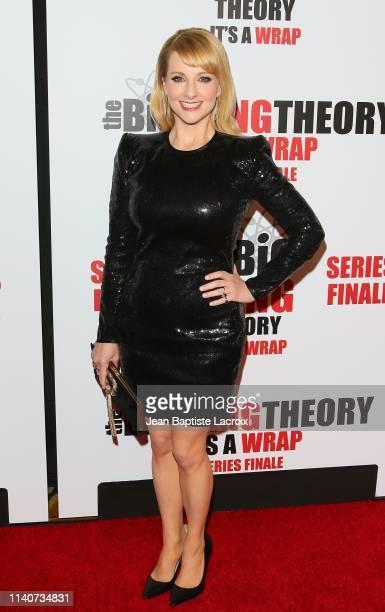Melissa Rauch attends series finale party for CBS' The Big Bang Theory at The Langham Huntington Pasadena on May 01 2019 in Pasadena California