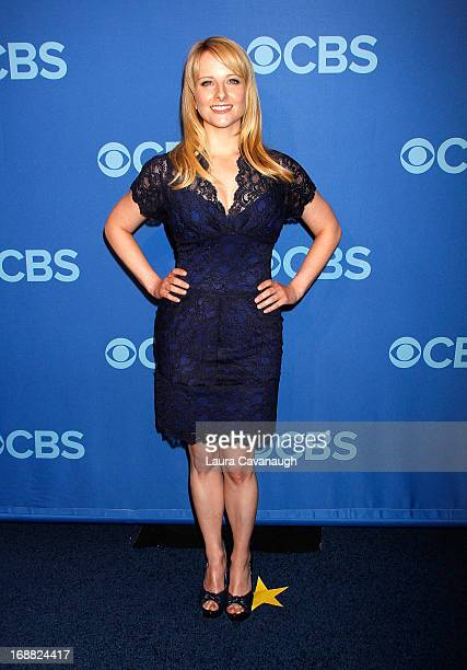 Melissa Rauch attends the 2013 CBS Upfront at The Tent at Lincoln Center on May 15 2013 in New York City