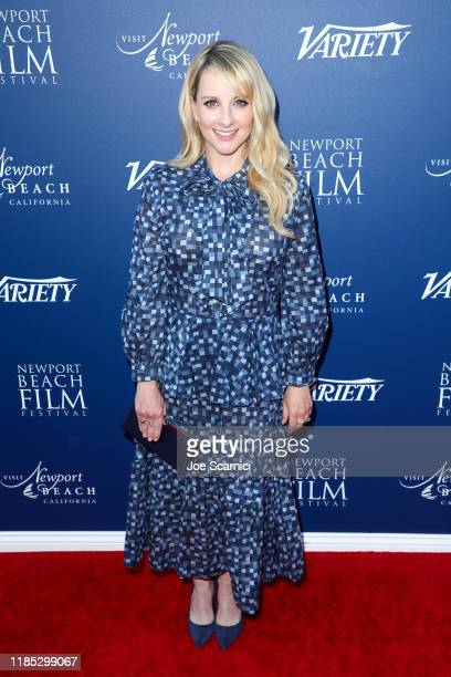 Melissa Rauch attends the Newport Beach Film Festival Fall Honors And Variety's 10 Actors To Watch presented by Visit Newport Beach and the Newport...
