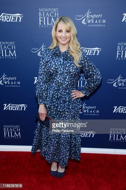 Melissa Rauch attends the Newport Beach Film Festival Fall Honors Featuring Variety's 10 Actors To Watch at The Resort at Pelican Hill on November 03...