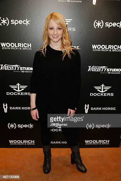 Melissa Rauch attends the The Variety Studio At Sundance Presented By Dockers Day 1 on January 24 2015 in Park City Utah