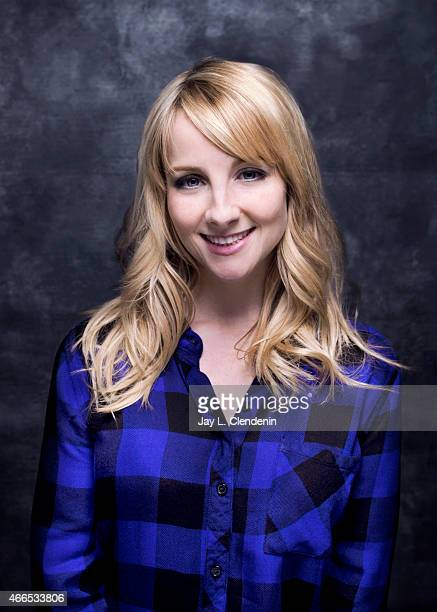 Melissa Rauch is photographed for Los Angeles Times at the 2015 Sundance Film Festival on January 24 2015 in Park City Utah PUBLISHED IMAGE CREDIT...