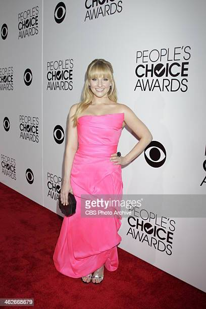 Melissa Rauch on the Red Carpet during The PEOPLE'S CHOICE AWARDS the only major awards show where fans determine the nominees and winners across...
